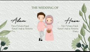 Template PPT Video Undangan Pernikahan Gratis Terbaru 2021
